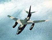 Douglas EB-66E Destroyer in flight 061103-F-1234P-006