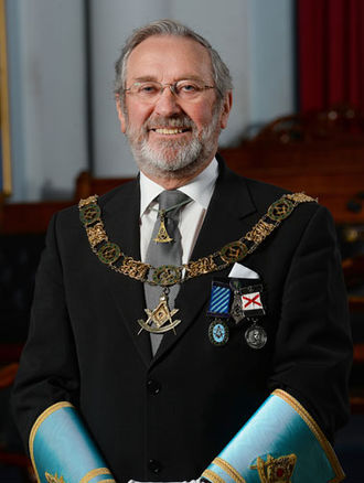 Grand Lodge of Ireland -  The Most Worshipful The Grand Master of Ireland, Douglas T. Grey.