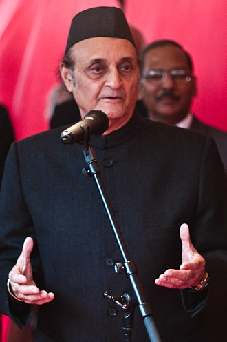 Ministry of Civil Aviation (India) - Image: Dr Karan Singh sept 2009