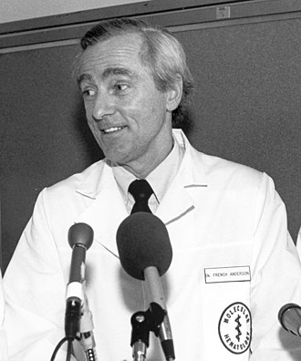 William French Anderson - Image: Dr. W. French Anderson at Gene therapy press conference (cropped)