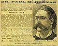 Dr Paul M Brenan's Cures for Diseases (1867) (ADVERT 159).jpeg