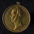Draagpenning op het overlijden van koning Willem II, objectnr 57900(1).JPG