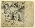 Drawing, Before an Army Hut, 1862 (CH 18173783).jpg
