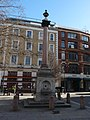 Drinking fountain at junction of Paul Street and Tabernacle Street, Hackney - viewed from west.jpg