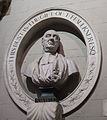 Dublin St. Patrick's Cathedral South Aisle Bust of Jonathan Swift 2012 09 26.jpg