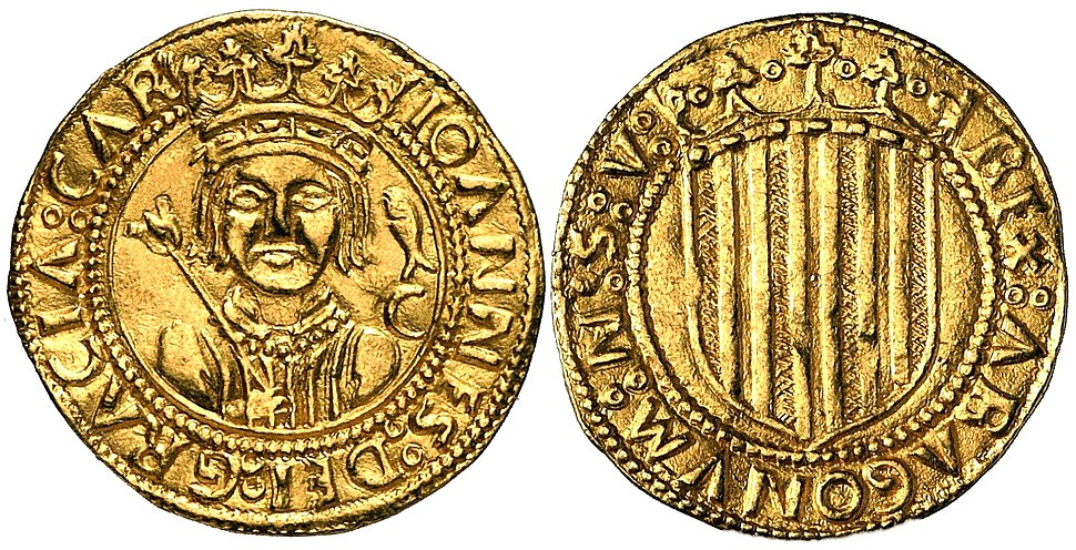 Ducado aragonés Juan II de Aragón (1453)
