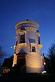 Dumfries Museum Windmill tower at night.jpg