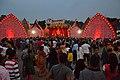 Durga Puja Pandal with Spectators - Ballygunge Sarbojanin Durgotsab - Deshapriya Park - Kolkata 2014-10-02 9083.JPG