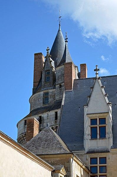 Durtal castle - Maine-et-Loire, France