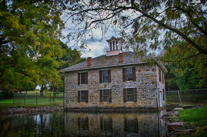 Dykeman's Spring - Image: Dykeman's Spring Hatch House and Pond