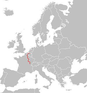 Europavej 17's strækning