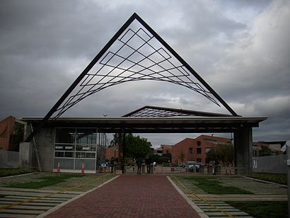 How to get to Escuela Colombiana De Ingenieria with public transit - About the place