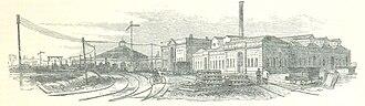 Eastern Counties Railway - Stratford Works