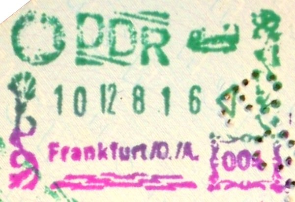 East Germany Frankfurt Oder