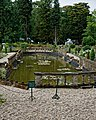 Easton Lodge Gardens, Little Easton, Essex, England ~ ornamental pool 01.jpg