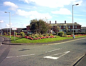 Eastriggs - Image: Eastriggs approached from the west