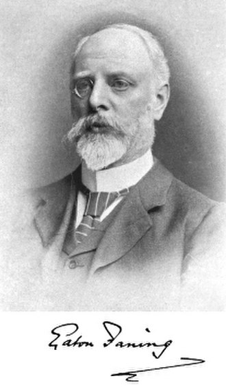 Eaton Faning - Faning in 1901