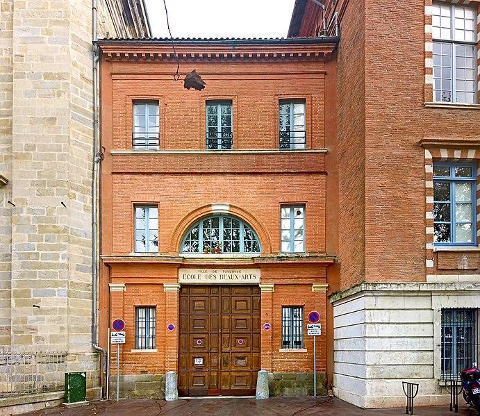 File ecole sup rieure des beaux arts de toulouse entr wikimedia commons - Portes ouvertes beaux arts toulouse ...