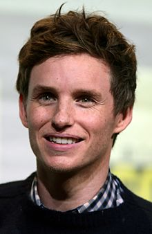 Eddie Redmayne - the cool, hot,  actor  with English roots in 2017