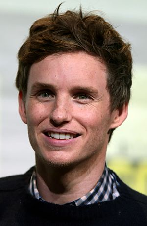 36th Golden Raspberry Awards - Eddie Redmayne, Worst Supporting Actor winner.