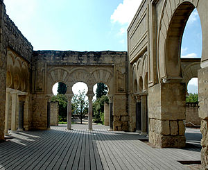 "Medina Azahara - ""Upper basilical hall"" or ""Dar al-Jund"", perhaps for administration."