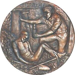 Edward Medal - Image: Edward Medal