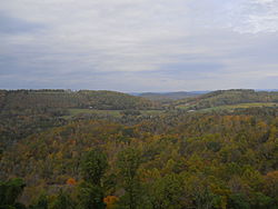 Eidson as seen from Clinch Mountain