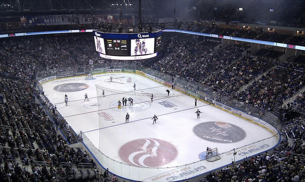 Eishockey O2 World Hamburg