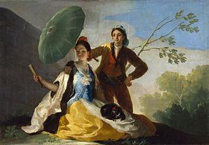 The Parasol - Image: El Quitasol (Goya)