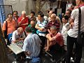 Elderly Chinese men playing draughts in Chinatown, Singapore - 2013.jpg