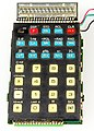 Electronic calculator Privileg SR 54 NC - display and keyboard-2331.jpg
