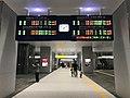 Electronic signage of Kumamoto Station (local lines) 2.jpg