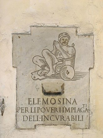San Giacomo degli Incurabili - Image: Elemosiniera
