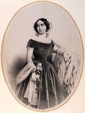 Elena D'Angri - Elena D'Angri, circa 1851