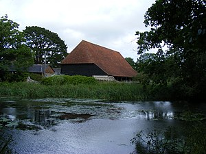 Michelham Priory - The barn.