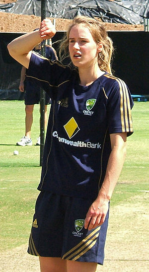 2013 Women's Cricket World Cup Final - Ellyse Perry took three wickets in the final.