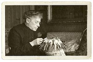 Moriz von Kuffner - Wife Elsa von Kuffner