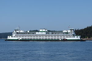 MV Elwha - Image: Elwha passing Flat Point 04