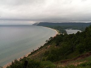 Empire, Michigan - View from Empire Bluff Trail