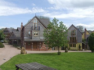 English: Energy efficient homes at 'The Wintle...