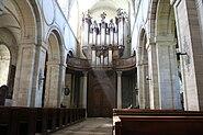 Entrée et orge de l'abbaye de Mondaye