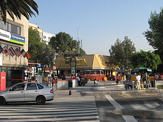 Metro Etiopía / Plaza de la Transparencia - Image: Entrance Metro Etiopia DF