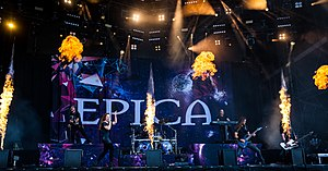 Epica live beim Wacken Open Air 2018