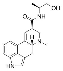 Ergonovine chemical structure.png