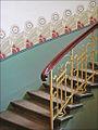 Escalier dun immeuble art nouveau (Riga) (7561908596).jpg