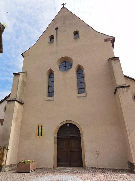 Alsace, Bas-Rhin, Église Saint-Trophime d'Eschau (PA00084707, IA00023089).