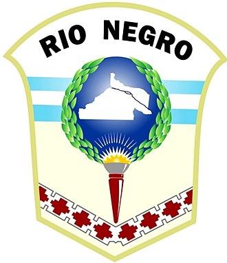 Governor of Río Negro Province - Image: Escudo de Río Negro nuevo