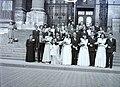 Esküvői fotó, 1948 Budapest. Fortepan 105301.jpg