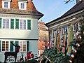 """Esslinger Mittelaltermarkt ^ Weihnachtsmarkt , Blick auf """"Hohwacht"""" - panoramio.jpg"""
