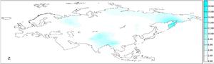 Haplogroup Z - Frequency distribution of mtDNA haplogroup Z in Eurasia